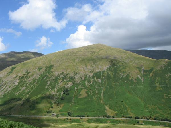 Seat Sandal from Steel Fell's southeast ridge