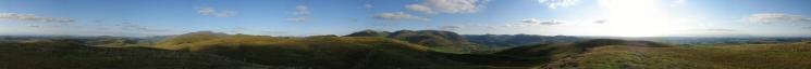 360 Panorama from Graystones' summit