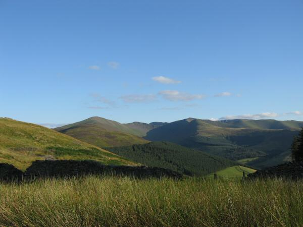 The view south to Grisedale Pike and Hopegill Head