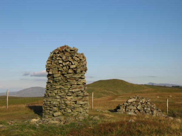 Broom Fell's summit cairn