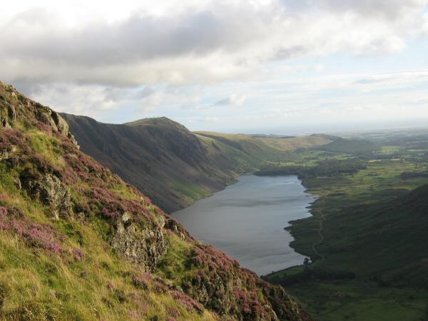 Wastwater from the ascent
