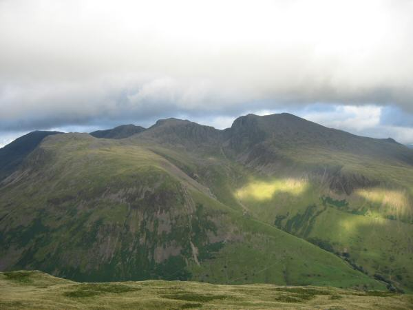 Great End, Lingmell, Broad Crag, Scafell Pike, Scafell and Slight Side