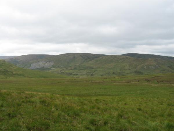 Branstree, High Howes and Howes with Selside Pike behind from the middle of nowhere