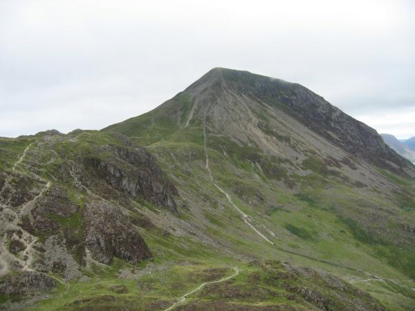 Gamlin End (High Crag) with Seat on the left from Haystacks