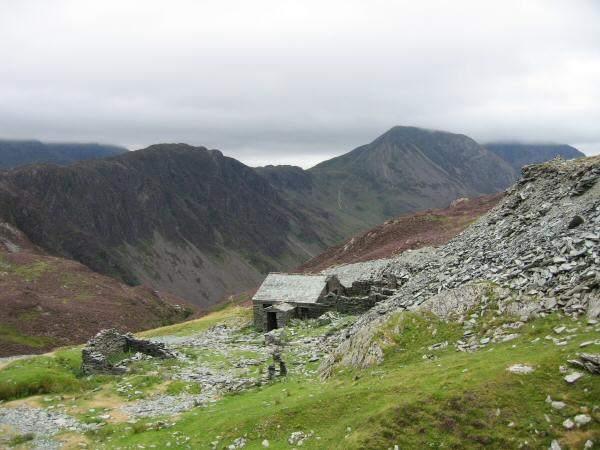 Haystacks and High Crag from Dubs Quarry
