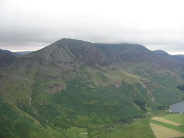 Looking across to High Crag from Fleetwith Pike