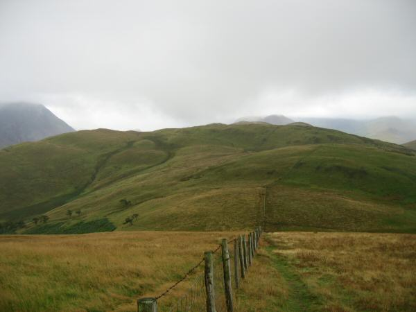Looking south towards Low Fell from Fellbarrow