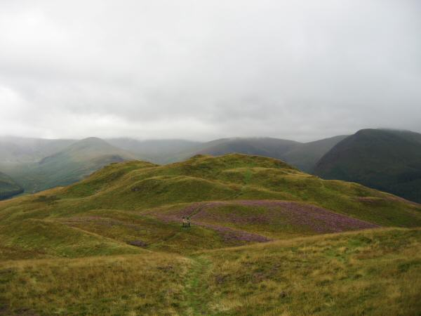 Low Fell's southern and lower top