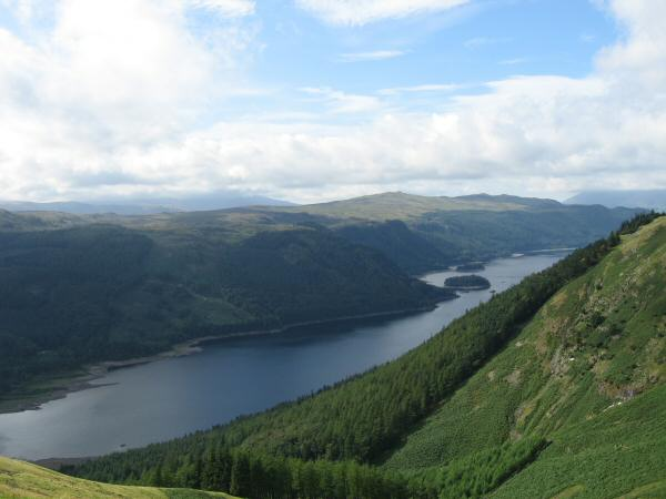 Thirlmere from the ascent