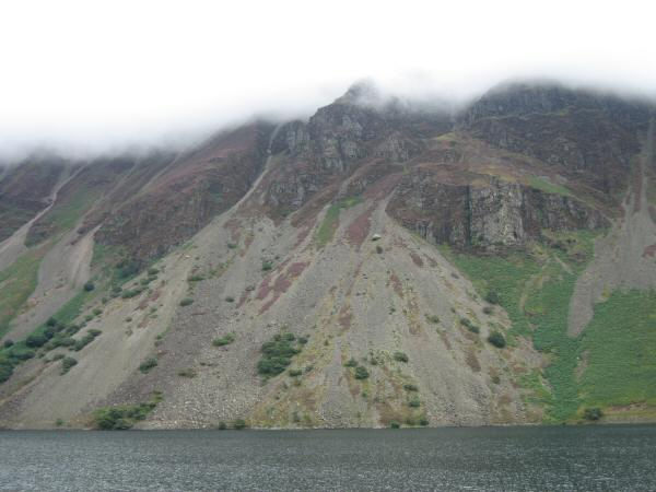 Looking across Wastwater to the Wastwater Screes