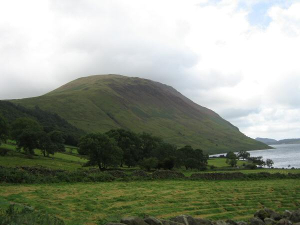 Illgill Head from near Brackenclose