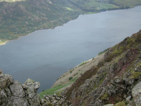Looking down on Wastwater