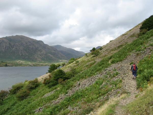 The start of The Screes path