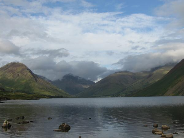 Looking up Wastwater towards Wasdale Head