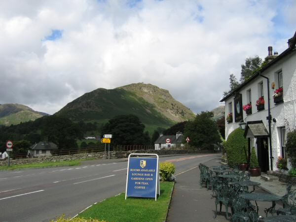 Helm Crag from The Swan, Grasmere