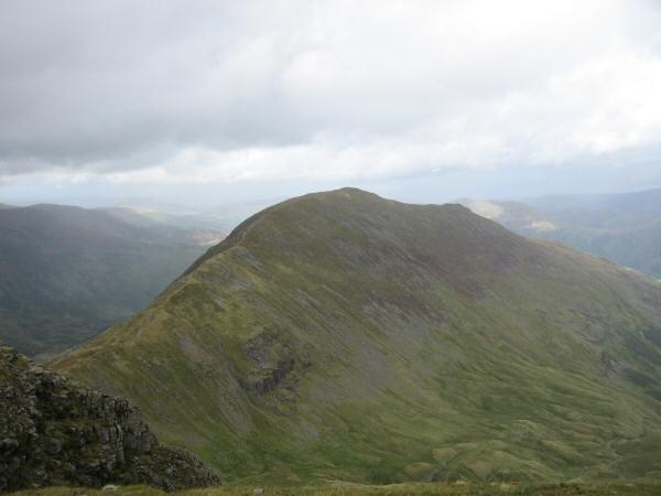 Saint Sunday Crag from Fairfield's summit