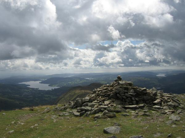 Great Rigg's summit cairn