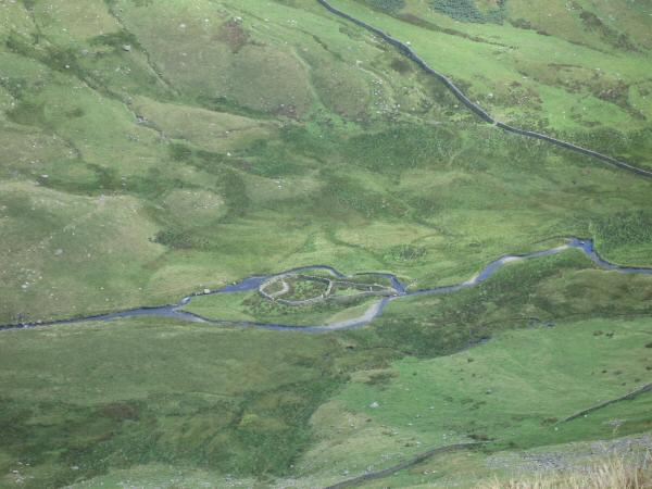 Island sheepfold, Rydal Beck