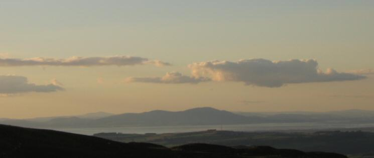 ...and across the Solway Firth to Criffel in Scotland