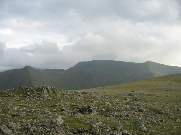 Catstycam, Helvellyn and Helvellyn Lower Man from Raise's summit