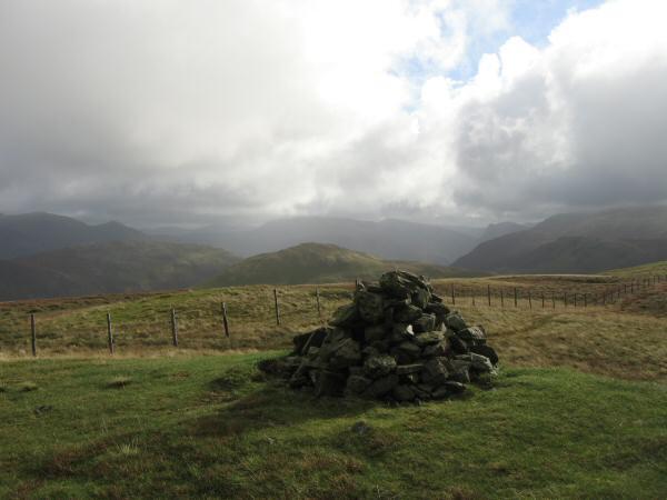 Gavel Fell's summit cairn