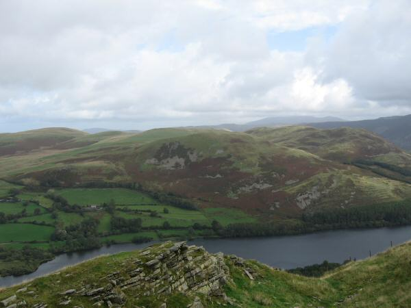 Looking over Loweswater to Darling Fell and Low Fell