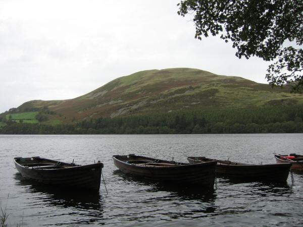 Looking across Loweswater to Darling Fell