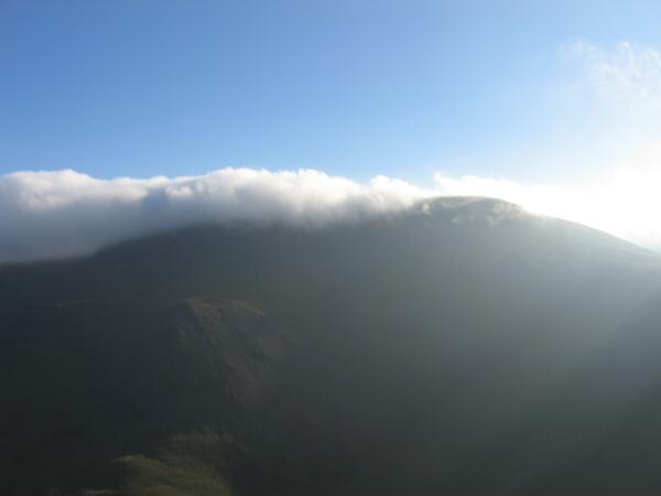 Cloud on Skiddaw