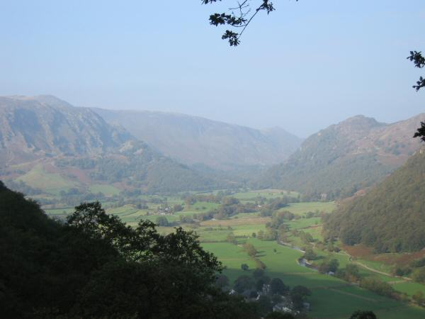 Borrowdale from the ascent