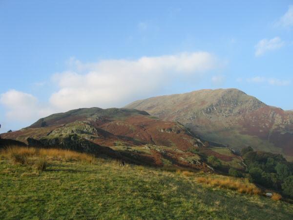 Birkhouse Moor from near Lanty's Tarn