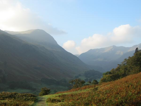 Looking across Grisedale to Saint Sunday Crag