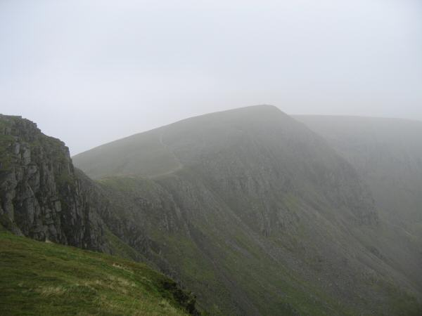 High Crag from Dollywaggon Pike