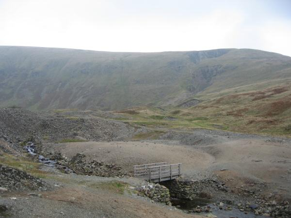 The old mining area near Nick Head