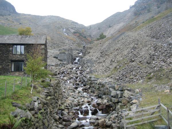 Swart Beck, Greenside mines