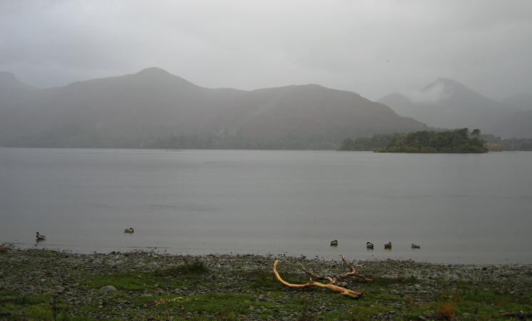 Catbells across Derwent Water
