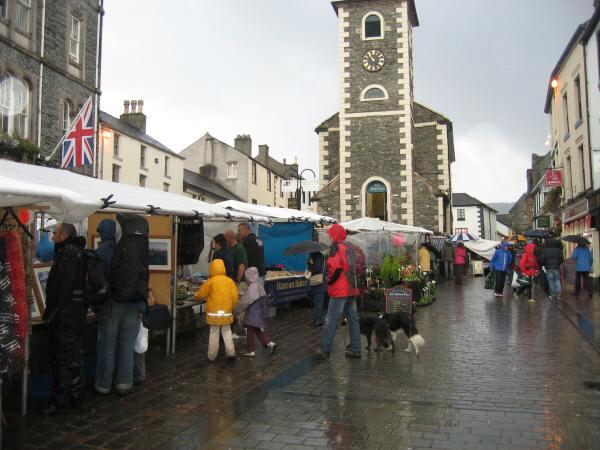 Market day, Keswick