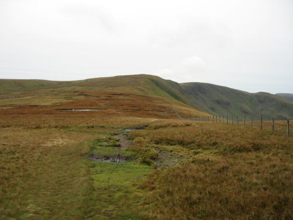 High Raise, Rampsgill Head and The Knott from Red Crag