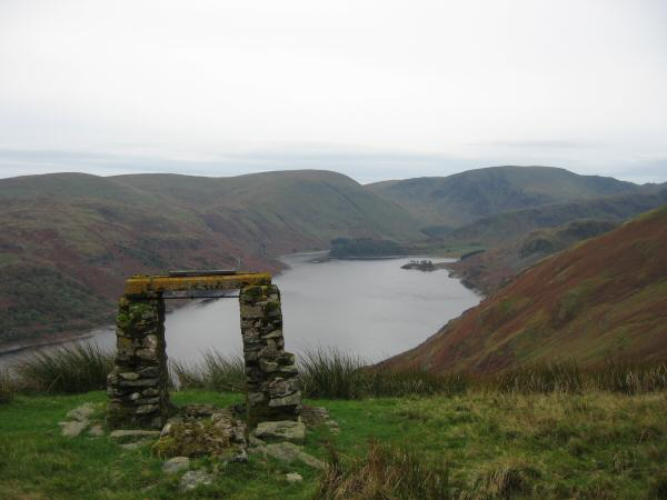 Haweswater with Branstree and Harter Fell at its head