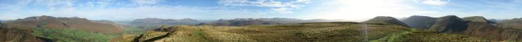 360 Panorama from Maiden Moor's summit