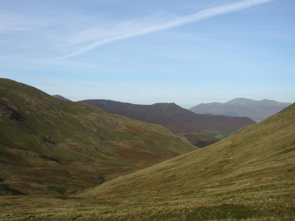 Little Dale and the distinctive Causey Pike