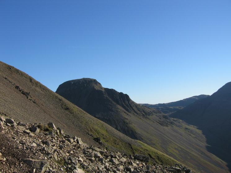 Looking across to Great Gable