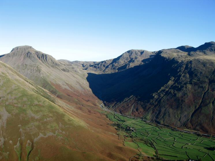 Great Gable and Wasdale Head
