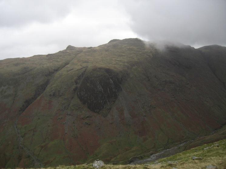 Looking across to Hind Crag on Glaramara