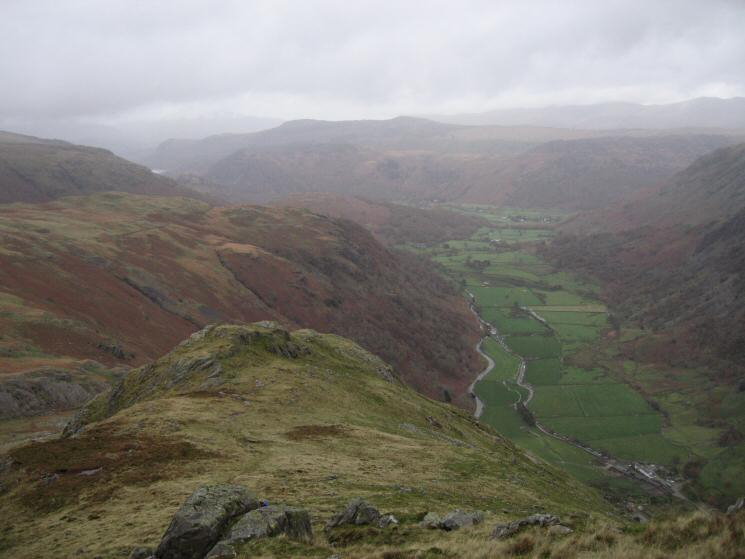 Borrowdale from Base Brown