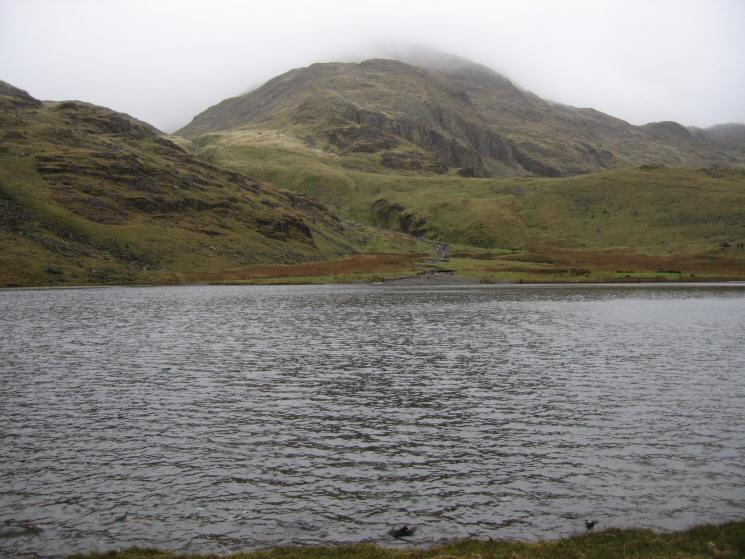 The Band, Great End from Styhead Tarn
