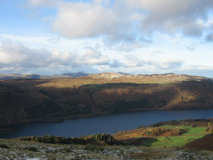 Looking over Thirlmere to High Seat from the Browncove Crags path