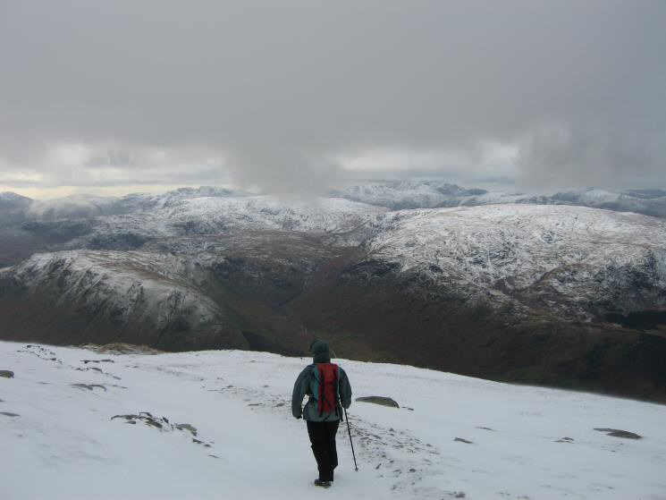 The central fells from Birk Side