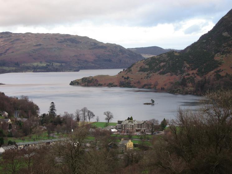 Zooming in on The Inn on the Lake, Glenridding, Ullswater
