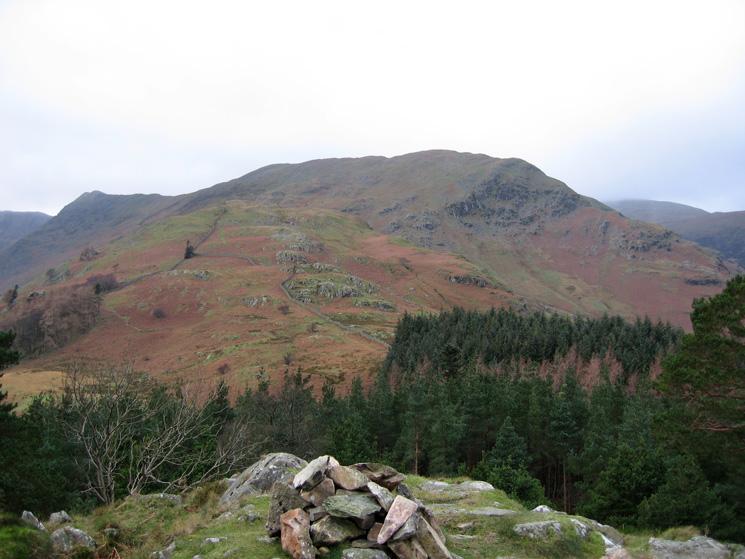 Birkhouse Moor from the summit of Keldas