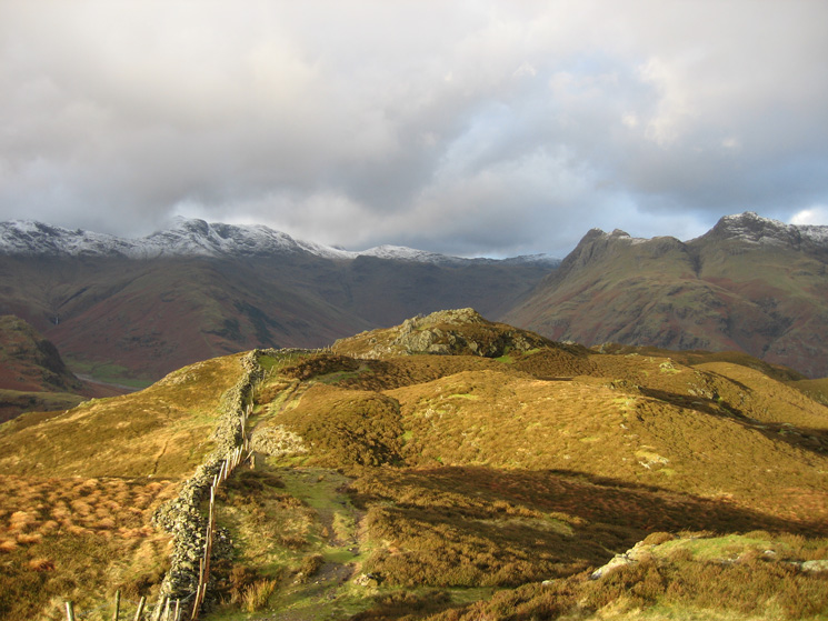 A sunny interval on Lingmoor Fell